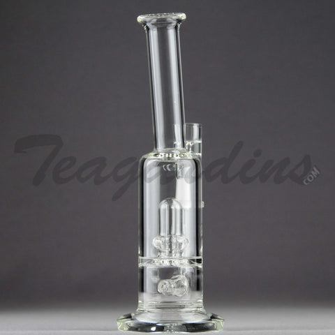 Teagardin's Glass - D.I. Bubbler with Inline and Showercap Percolator