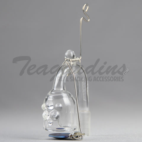 Labworx Glass-90 Degrees Skillet for Concentrates  Domeless, Tools, Dabbers, Dome, Oil Rigs, Titanium Nails, Quartz