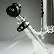 "Load image into Gallery viewer, Left Coast Glass - Beaker Water Pipe - 5mm Thickness / 14"" Height"