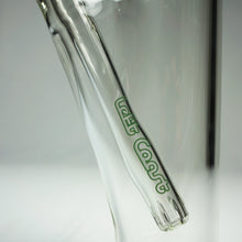 "Load image into Gallery viewer, Left Coast Glass - Showerhead Diffuser Downstem Straight Water Pipe - 9mm Thickness / 18"" Height"