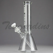 Load image into Gallery viewer, Left Coast Glass - Beaker Tube White Water Pipe