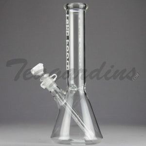 Left Coast Glass - Beaker Tube White Water Pipe