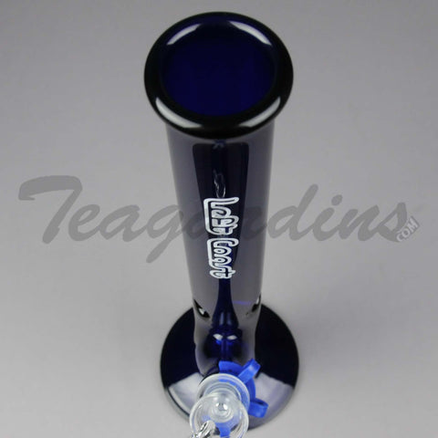 "Left Coast Glass - 14"" Straight Cobalt Water Pipe"