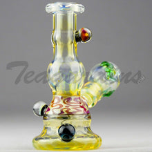 Load image into Gallery viewer, Lion Glass - Fumed Mini Tube Oil Rig