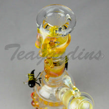 Load image into Gallery viewer, Lion Glass- Honey Bee's Mini Tube