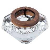 Marley Natural - Accessories Ashtray Crystal Black Walnut