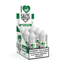 Load image into Gallery viewer, Mad Hatter Juice - Salt E-liquid I Love Salts Classic Menthol 30ml 6 Count Box for sale