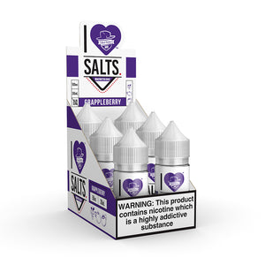 Mad Hatter Juice - Salt E-liquid I Love Salts GrappleBerry 30ml 6 Count Box for sale