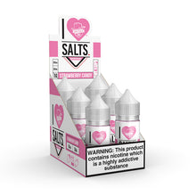 Load image into Gallery viewer, Mad Hatter Juice - Salt E-liquid I Love Salts Strawberry Candy 30ml 6 Count Box for sale
