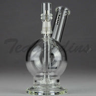 Mav Glass - D.I. Toker - Fixed Showerhead Percolator Diffuser Dab Rig - Black Decal - 5mm Thickness / 7