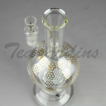 Load image into Gallery viewer, Mav Glass - Stemless Double Honeycomb Percolator D.I. Water Pipe