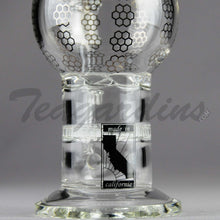 Load image into Gallery viewer, Mav Glass - Stemless Water Pipe Dual HD Turbine Percolator
