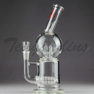 Mav Glass - Stemless Water Pipe With Matrix to UFO Percolator