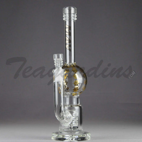 Mav Glass - Stemless Water Pipe With Shower Head Percolator