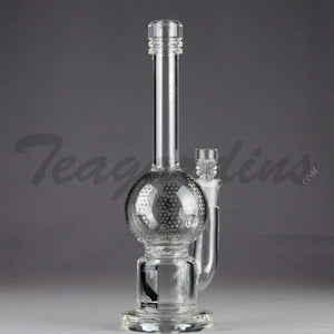 Mav Glass - Stemless Water Pipe With Turbine Percolator
