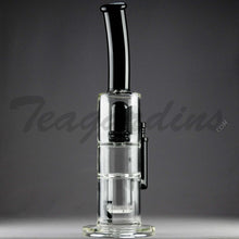 Load image into Gallery viewer, Mav Glass - Stemless Waterpipe With Honey Comb Disc Percolator Black