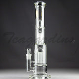 Mav Glass - Stemless Waterpipe with 12 Arm to 9 Arm Tree Percolator
