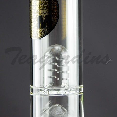 Mav Glass - Stemless Water Pipe with 12 Arm to 9 Arm Tree Percolator