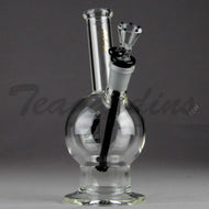 Mav Glass - Toker - Showerhead Downstem Dab Rig - Black Gold - 5mm Thickness / 8
