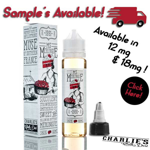 Mr Meringue E-Liquid - Ms Meringue - 5ml &  60ml