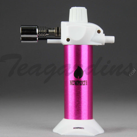 Newport Torch -  Adjustable Mini Torch Pink 5.5""