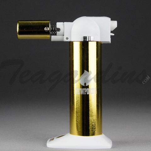 Newport Torch - Adjustable Butane Gold Torch Color Series 6""