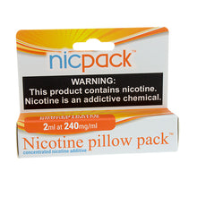 Load image into Gallery viewer, Nic Pack - Nicotine Pillow Pack - 2ml - 240mg