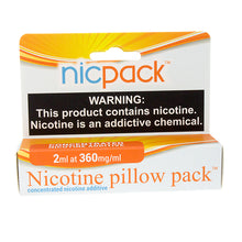 Load image into Gallery viewer, Nic Pack - Nicotine Pillow Pack - 2ml - 360mg