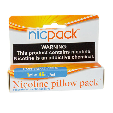 Nic Pack - Nicotine Pillow Pack - 1ml - 45mg