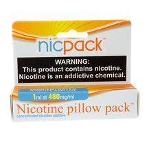 Load image into Gallery viewer, Nic Pack - Nicotine Pillow Pack - 1ml - 480mg