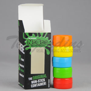 No Goo Rubber Jars 5 Pack Concentrate Tools
