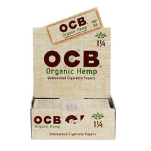 Load image into Gallery viewer, OCB - Hemp Rolling Papers 1 1/4