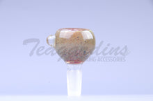 Load image into Gallery viewer, OGkaos Glass on Glass 14mm Bowl Smoking slide Glass on Glass Bowl Bong Slide