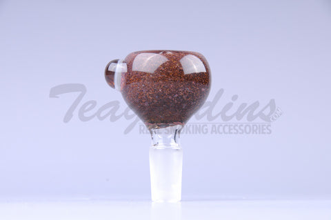 OGkaos Frit Worked Glass on Glass 14mm Bowl