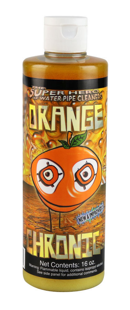 Orange Chronic - Water Bong Glass Pipe Cleaning Solution - Original - 16oz For Sale