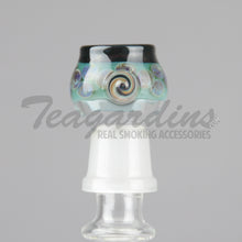 Load image into Gallery viewer, Pyro glass spotted domes,Concentrate Tools,Dabbers, Domes,Oil Rigs, Titanium Nails,Quartz Nails