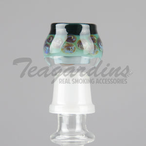 Pyro glass spotted domes,Concentrate Tools,Dabbers, Domes,Oil Rigs, Titanium Nails,Quartz Nails