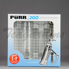 Load image into Gallery viewer, Purr Glass - 2 Go Travel Bubbler Pipe *Unbreakable*
