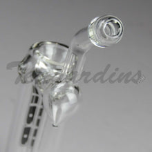 Load image into Gallery viewer, Best Hand Bubbler Purr Glass - Full Sherlock Clear Bubbler for sale