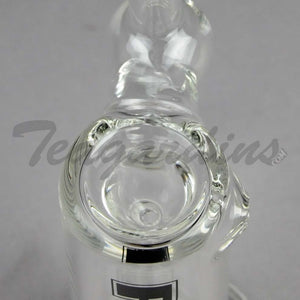 Best Hand Bubbler Purr Glass - Full Sherlock Clear Bubbler for sale