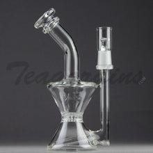 Load image into Gallery viewer, Purr Glass - Hourglass Bubbler wth Inline Diffuser and HD Percolator
