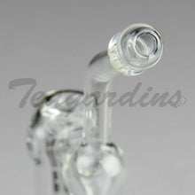 Load image into Gallery viewer, Best Hand Pipe Purr Glass - Pocket Sherlock Clear for sale