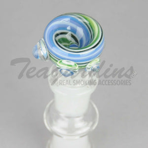 Pyro Glass - Worked 14mm Bowl Slide Pullstem