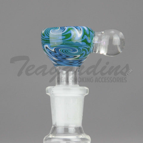 Pyro Glass - Worked 14mm Pullstem Slide
