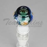 Pyro Glass - Worked 18mm Dome Concentrate Tools