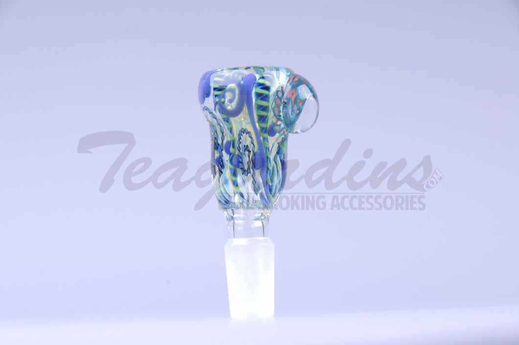 Pyro Glass on Glass 14mm Bowl Smoking for sale