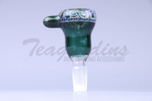 Load image into Gallery viewer, Pyro Glass on Glass 14mm Bowl Smoking Bong Slide