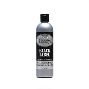 Randys x Illadelph - Water Pipe Cleaning Solution - Black Label - 12oz