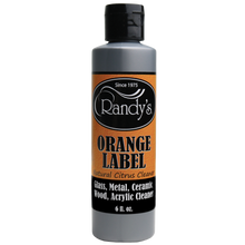 Load image into Gallery viewer, Randys - Water Pipe Cleaning Solution - Orange Label - Soaker - 12oz