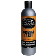 Randys - Water Bong Cleaning Solution - Orange Label - Soaker - 12oz
